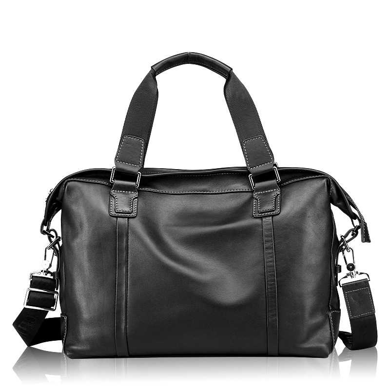 Heißer verkauf männer echte leder kommerziellen handtasche rindsleder schulter tasche mann business aktentasche vintage messager tasche reisetasche