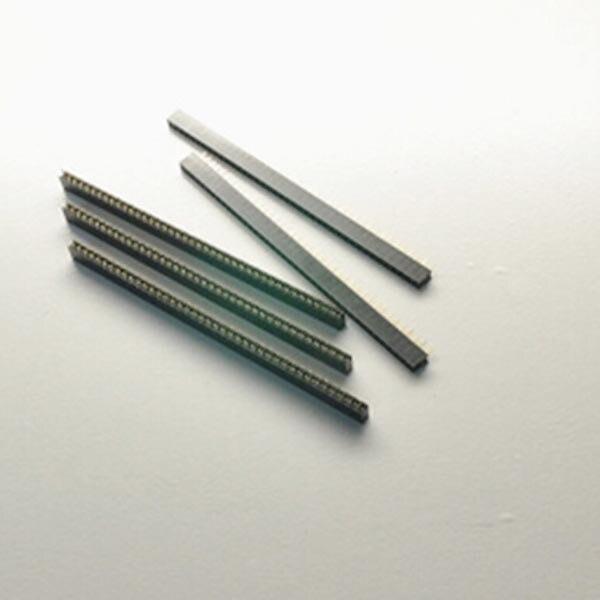 10X Single row seat female 1*40PIN 2mm pitch vertical pin Needle Base Socket