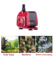 Submersible Aquarium Fountain Water Pump Water Circultaion Fountain Aquarium Pump Filter For Pond Fish Tank Garden Decoration