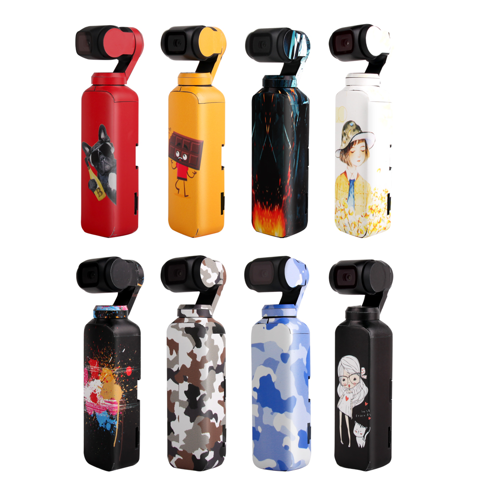 Sticker For DJI Osmo Pocket Skin Stickers 3M Scotchcal Film Decals OutDoor Waterproof Decal