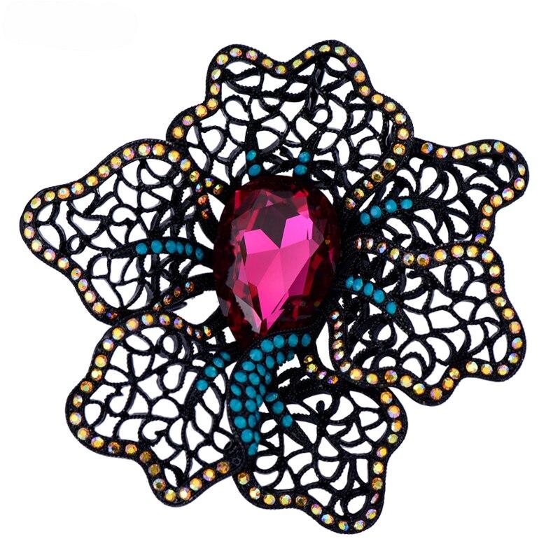 Épinglette sur patch vintage mélangé cristal perlé badge patchs pour vêtements parches termoadhivos para ropa autocollants pour vêtements
