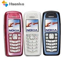 3100 ursprünglicher Freigesetzter Nokia 3100 GSM Bar 850 mAh Unterstützung Russisch & Arabisch tastatur Günstige und altes Handy Freies Verschiffen