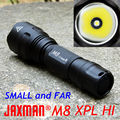 JAXMAN M8 long-range throw version Cree xpl hi 18650 LED flashlight torch camping cycling outdoor Lamp CE RoHS