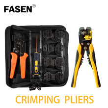 SN-48B Crimping pliers jaws kit package for terminals,multitool crimping tool set,tube spade Fork terminal crimp