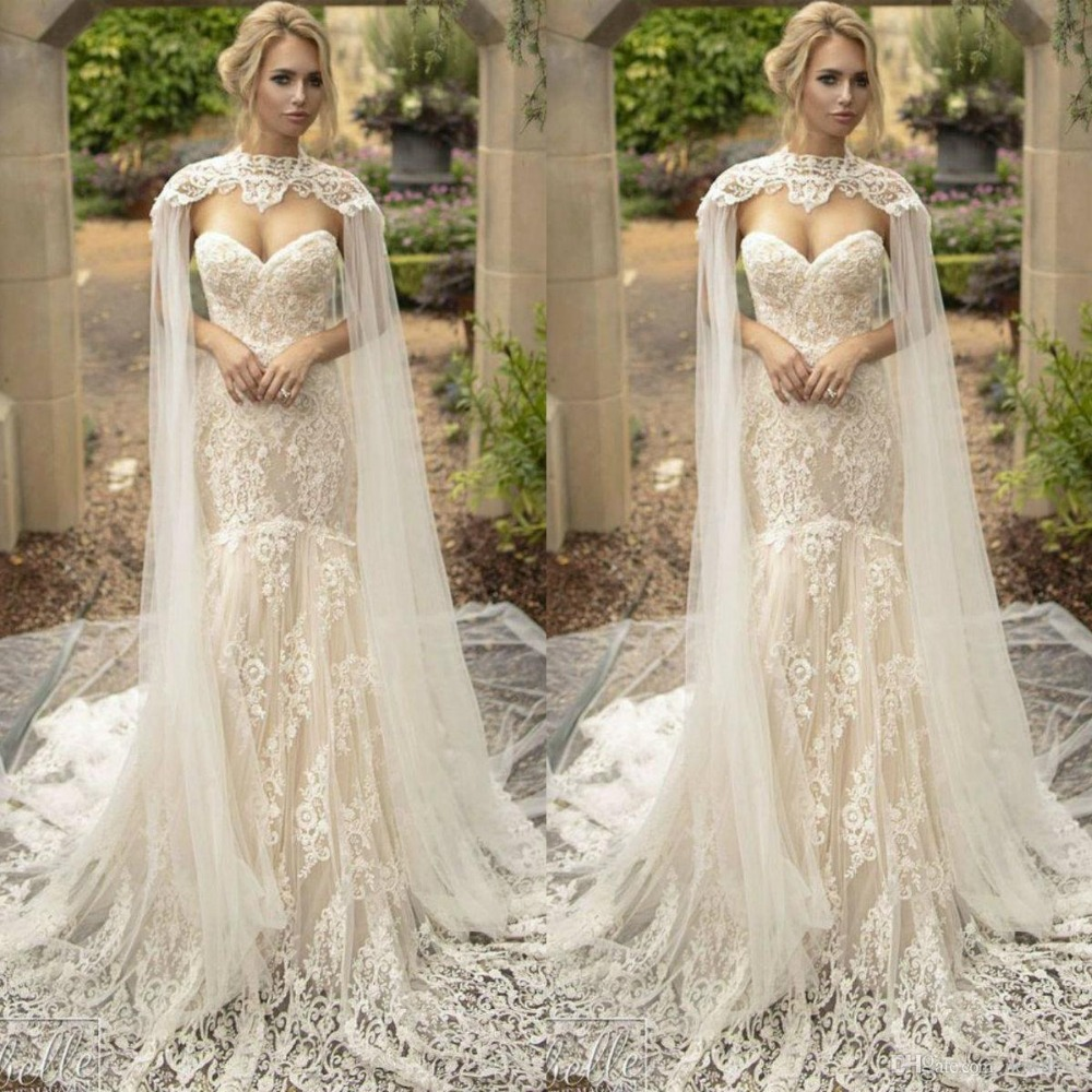 2019 Garden Wedding Dresses Off Shoulder Full Lace Appliques Bridal Gowns Real Images Vestidos De Noiva Country Wedding Dress