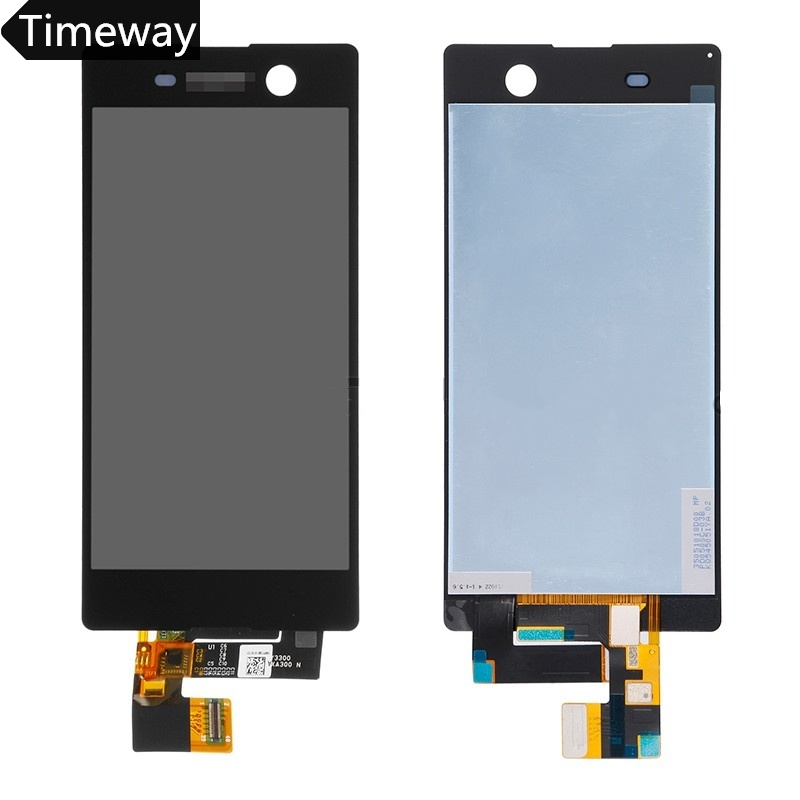 10 pieces/lot by DHL/EMS LCD display For Sony Xperia M5 Dual E5633 E5643 E5663 5.00 inch LCD touch Display Screen Digitizer