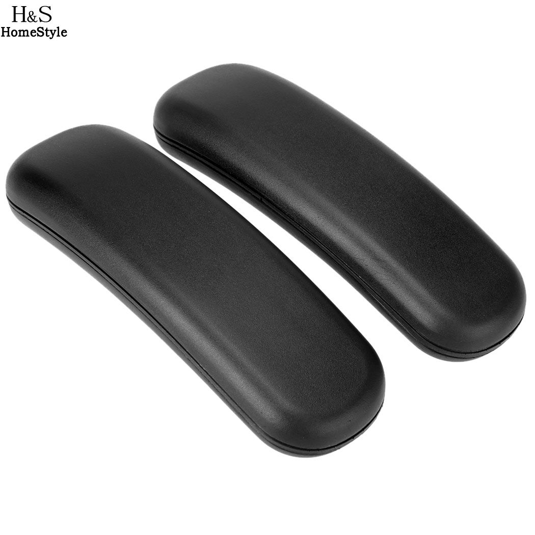 Homdox 2PCS Universal Replacement Office Chair Armrest Arm Pads (Set of 2) replacement alto saxophone leather pads set brown 26 pcs 1 set