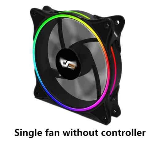Darkflash aigp MR12 3 p-5 V aura sync funda de ordenador ventilador de refrigeración RGB 120mm silencioso IR remoto nuevo refrigerador de ordenador carcasa del ventilador de enfriamiento