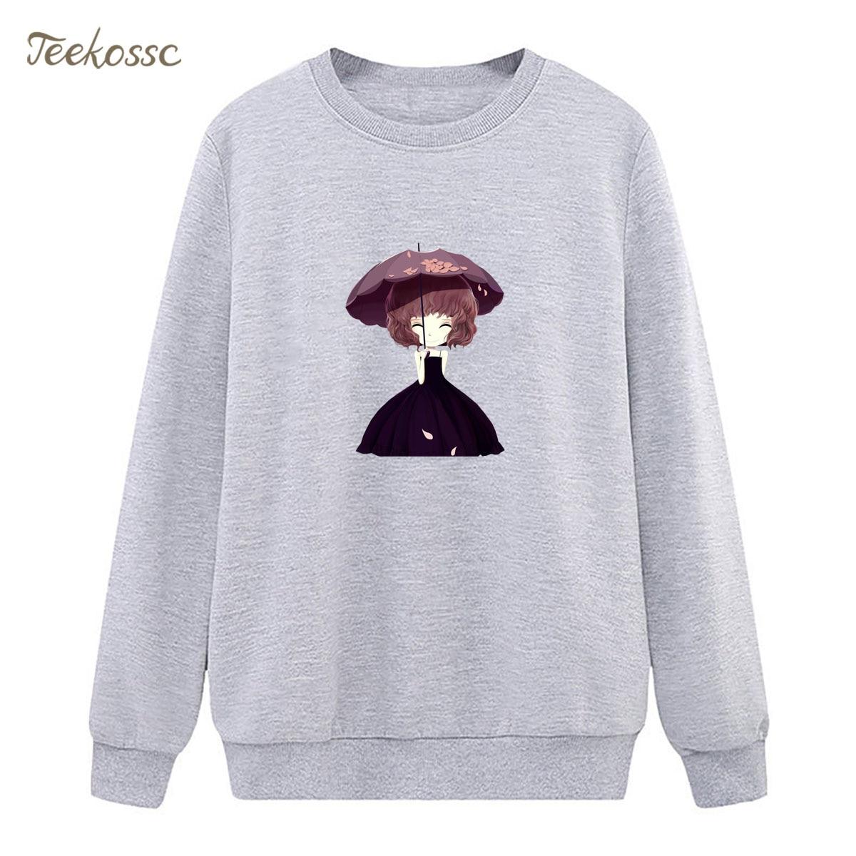Girls Sweatshirt Hoodies Women 2019 New Fashion Spring Autumn Ladies Pullover Fleece Warm Streetwear Cute Brand Clothing