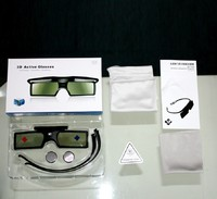 New 2pcs Bluetooth 3D Active Shutter Glasses Replace TDG BT500A TDG BT400A For Sony 3D TV
