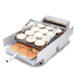 Handlowa maszyna do pieczenia hamburgerów urządzenia grzewcze ze stali nierdzewnej Burger sterowanie mechaniczne Hamburger piec do pieczenia IHBJ-5