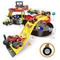 Blaze colorido Máquinas Niños Neumático de Estacionamiento Juguetes Transformación de Juguetes Figuras de Acción de Juguete para Niños brithday regalo