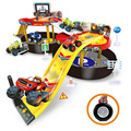 colorful Blaze Machines Kids Tire Parking Toys Action Toy Figures Transformation Toy for Kids brithday gift
