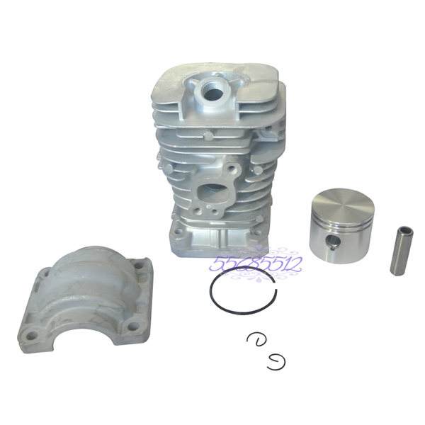 41mm Cylinder Barrel Cover Piston Kit w /Rings Part Fit For Partner Chainsaw 350 351 41 1mm 350 cylinder