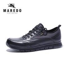 MAERDO formal shoes men casual shoes Waterproof breathable men leather shoes