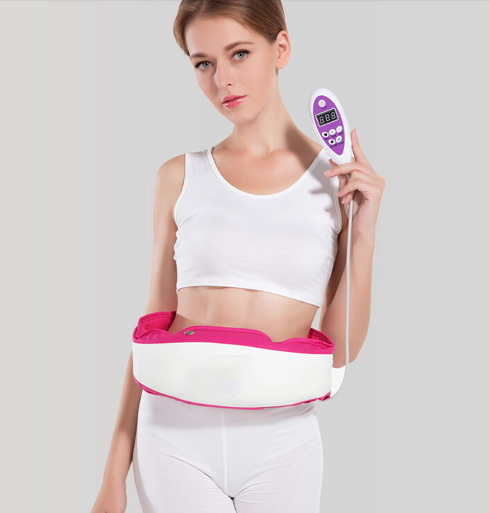 Massage to lose weight belt lazy power plate shook the machine vibration slimming waist fat instrument material thin leg abdomen reduce weight thin waist belt 4800times min vibration massage rejection fat weight lose shake shake belt slimming belts