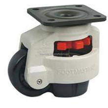 hot 1PCS GD-80 Level adjustment wheel Casters flat support, forHeavy equipment ,Industrial casters