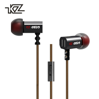 KZ ED9 Earphone Hifi HD 3D Stereo 1 2m Wired Earphone Headset Headphone Line Control For