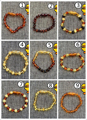 9 Style Baby Gift Custom Ambar Jewelry Bead Certified Authentic Genuine Baltic Natural Ambar Bracelets for Girls Boys Top Packs