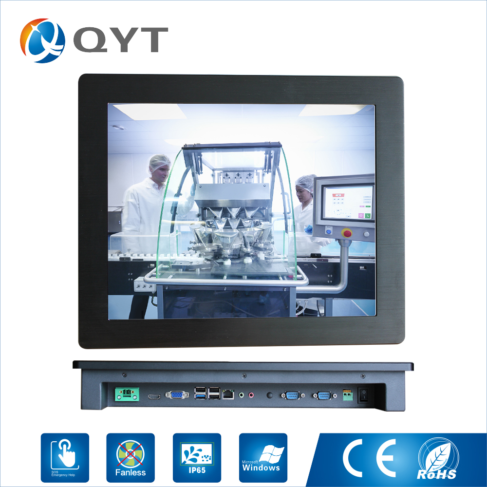 19 inch Resolution 1280*1024 Intel Celeron J1900 2.0GHz 32G SSD 4GB DDR3 Embedded All In One Lcd Touch Panel pos Terminal Pc truth flat all in one 15 touch pos terminal machine ssd 4gb ssd 64gb j1900 quad core fanless pos with cash drawer