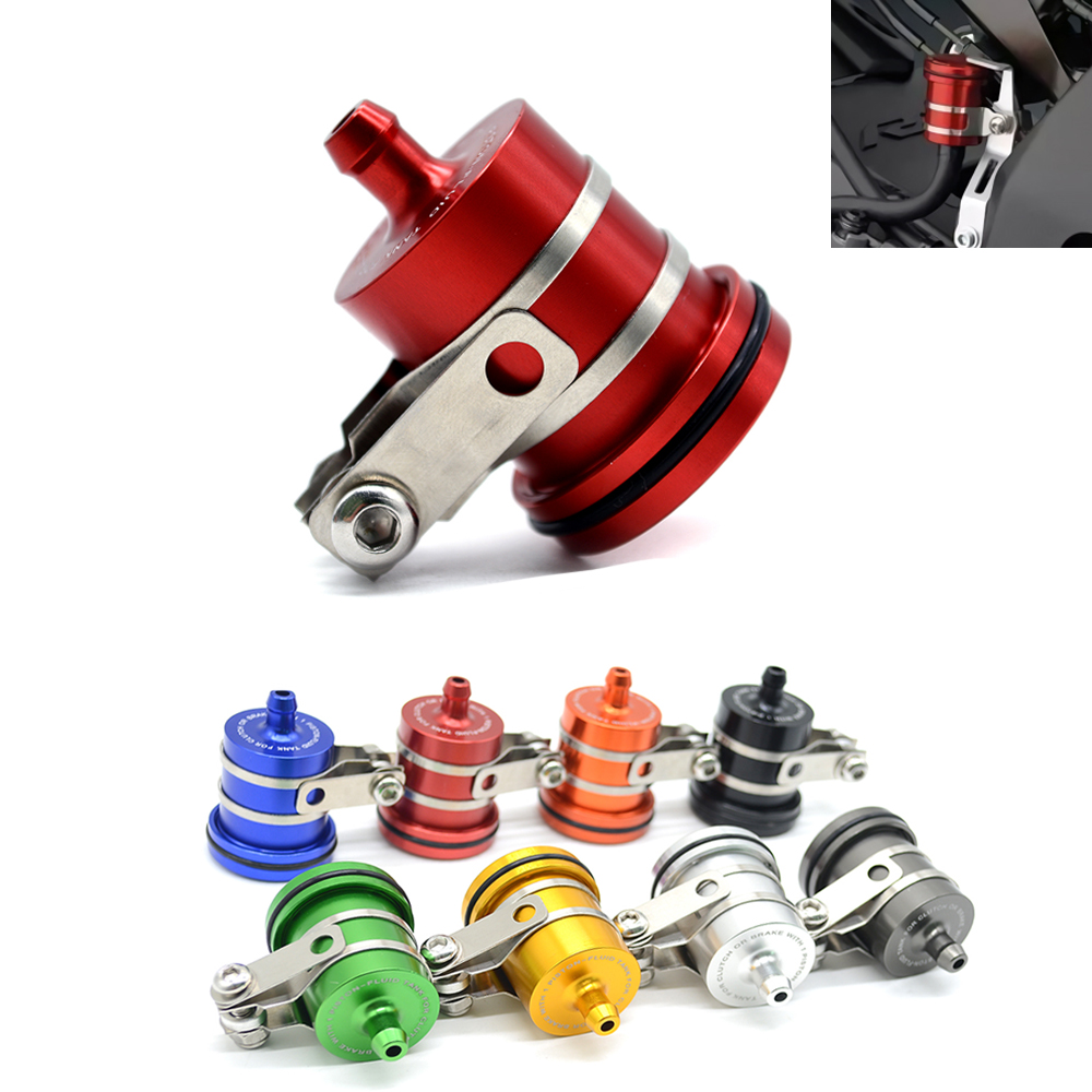 Motorcycle Fluid Reservoir Billet Rear Brake Clutch Tank Oil Cup for honda hornet 600 cbr 600 cb 750 cb400 cb1300 cbr 1000 rr