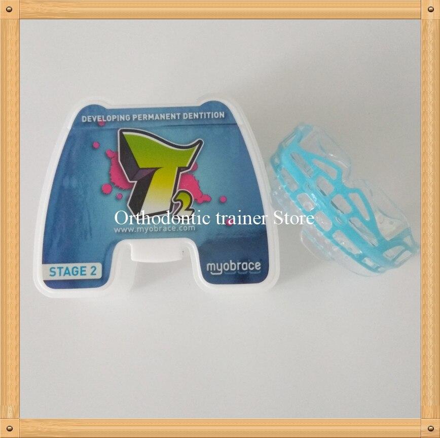Teenager Dental Trainer Appliance T2 MRC Orthodontic brace T2 for ages 10 15 Dental Orthodontic Teeth