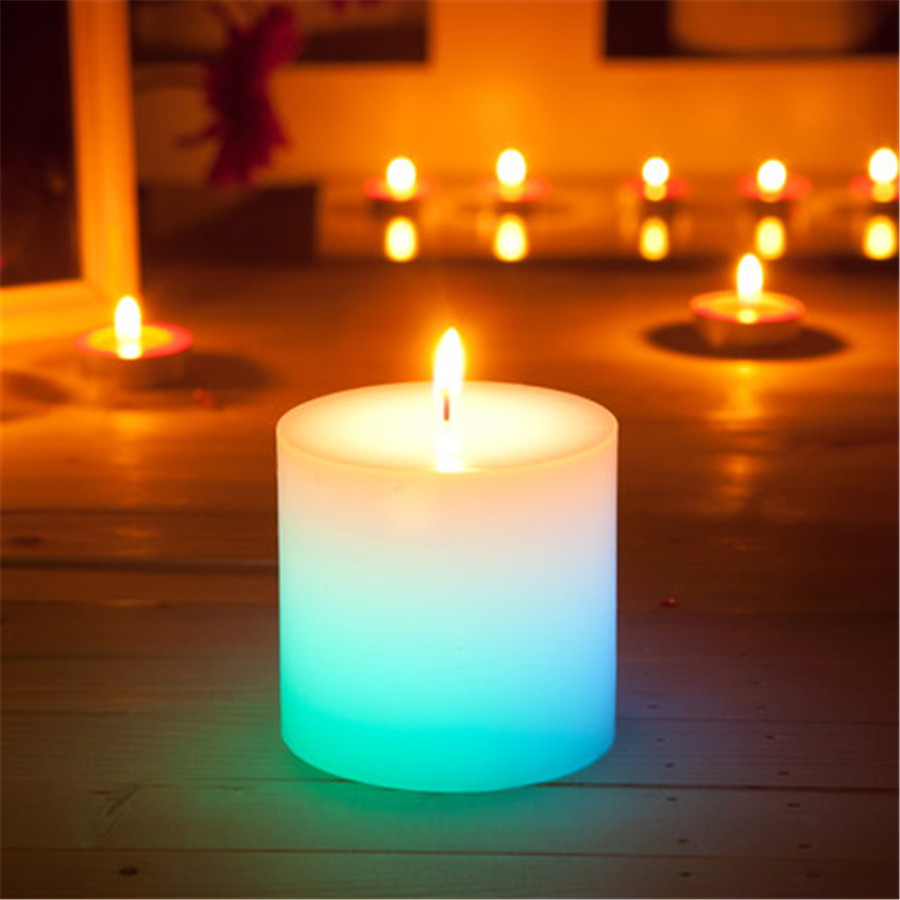 Candles Home Decor: Smokeless Music Birthday Candle Romantic Decoration