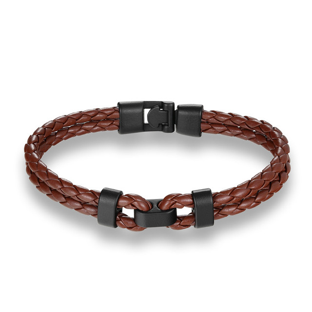 Retro Easy Hook Leather Bracelets