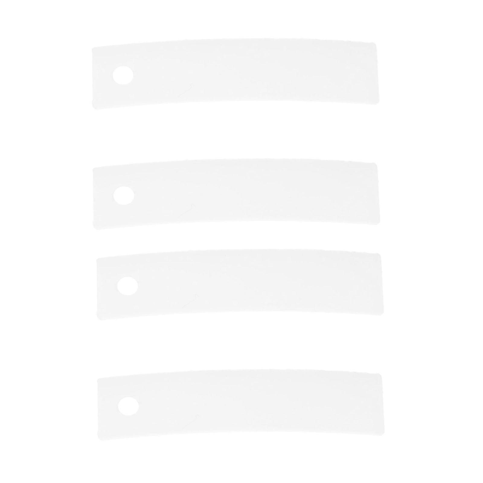 4 Pcs Ap3206716 Ps755842 Droger Top Lager Glide Vervanging Onderdelen Past Voor Whirlpool Hoge Standaard In Kwaliteit En HygiëNe