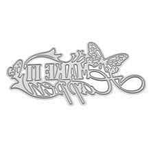 Make It Happen Metal Cutting Dies Stencil DIY Scrapbooking Album Stamp Paper Card Embossing Craft Decor