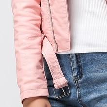 Faux Soft Leather Jacket