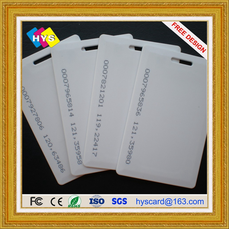 Plastic  ID Cards And Smart Card With High Security UV/Hologram Film / Overlay