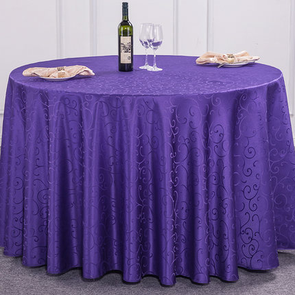 Top White 120 Inch Polyester Round Tablecloths Wedding Decorations Christmas Table Cloth Covers Nappe Ronde Mariage Obrusy Na