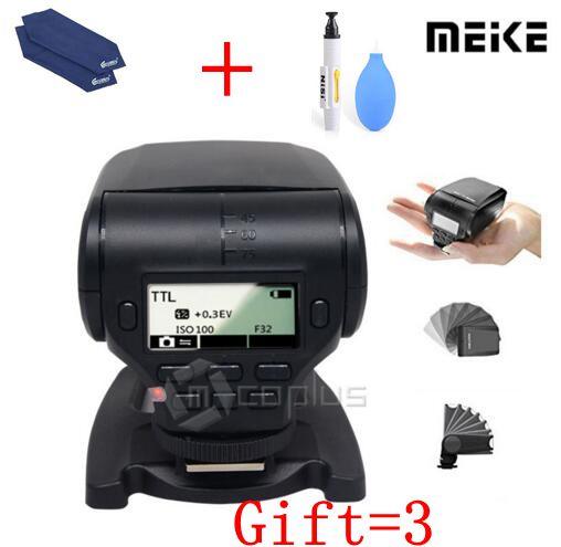 купить Meike MK320S MK-320 TTL Flash (GN32) Speedlite for Sony A7 A7 II A7S A7R A6000 A5000 A9 A6300 по цене 4147.85 рублей