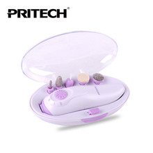 PRITECH 4IN1 Mini Manicure Pedicure Set Nail Polish Tool Carrier Portable Nail Instrument Nail Care Tool Beautify your life