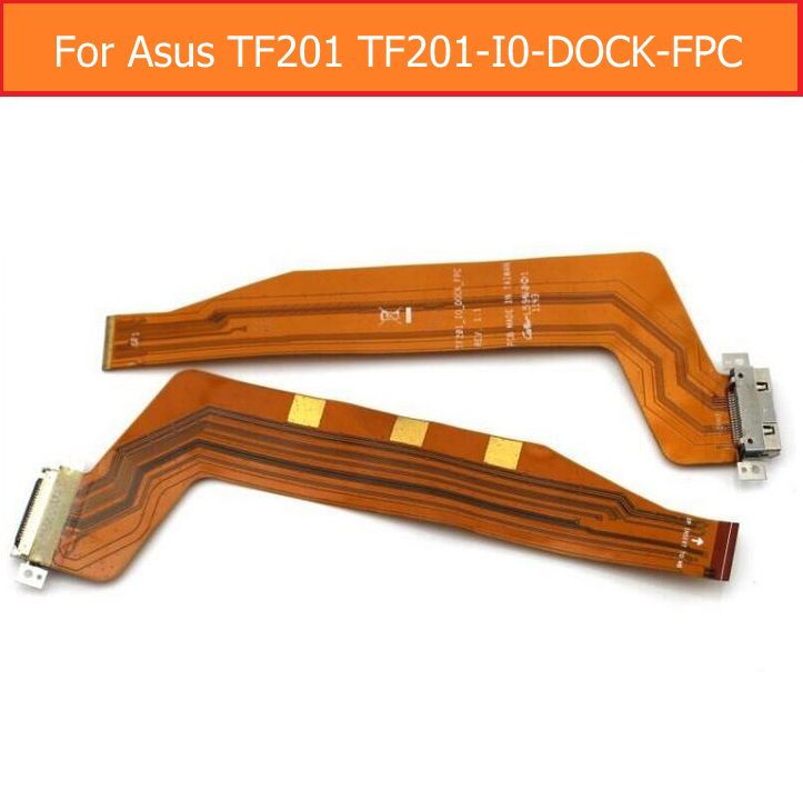 Sync Date Charging Port Flex Cable For Asus Tranformer Pad TF201 TF201-I0-DOCK-FPC USB Charger Connector Jack Dock Flex Cable