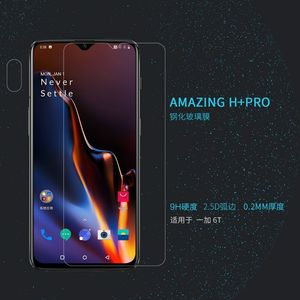 Image 2 - For Oneplus 7 for oneplus 6T Tempered Glass Nillkin H/H+PRO 9H Screen Protector film protective safety glass for One plus 7 /6t