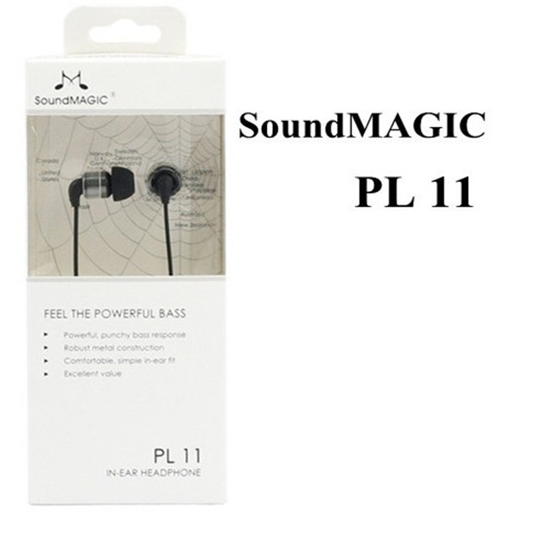 Genuine SoundMAGIC PL11 In Ear Earphone HiFi earbuds 100 Original Sealed in box