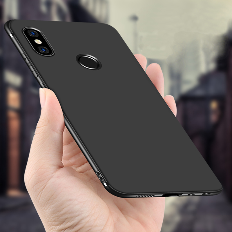 CAPSSICUM Ultra-thin Soft Matte Case for Xiaomi Redmi Note 5 Cases TPU Flexible Slim Gel Note5pro Back Cover for Redmi Note5 Pro