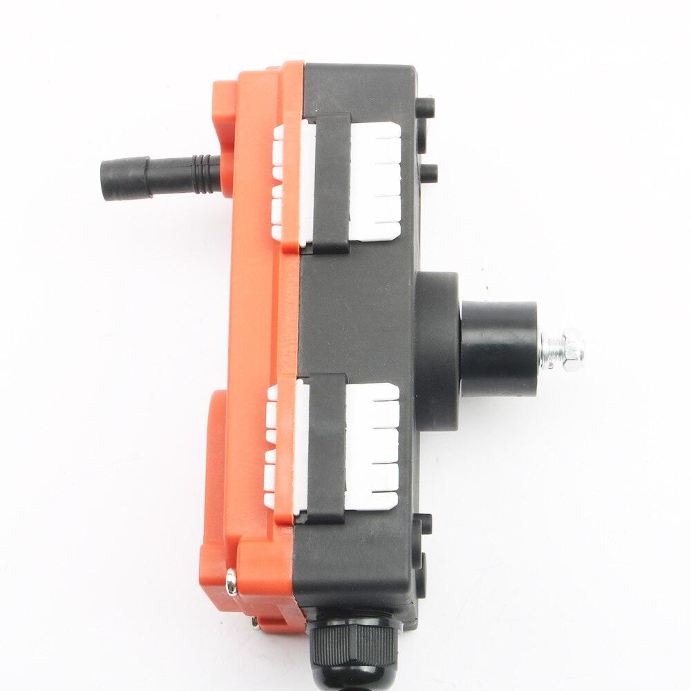 380V 12V 24V 220V télécommande industrielle commutateurs grue grue contrôle ascenseur grue 1 émetteur + 1 récepteur F21-E1 - 6