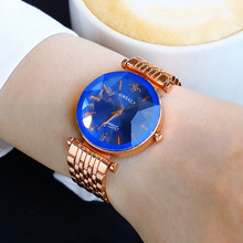 Starry Sky dial Quartz Women Watches Luxury Ladies Simple Stainless Steel Strap Female Casual Analog WristWatch DropShipping