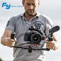 FeiyuTech feiyu FY a2000 3 Оси Gimbal DSLR Камеры Стабилизатор Двойной ручной ручка для Canon 5D SONY Panasonic 2000 г против крана 2