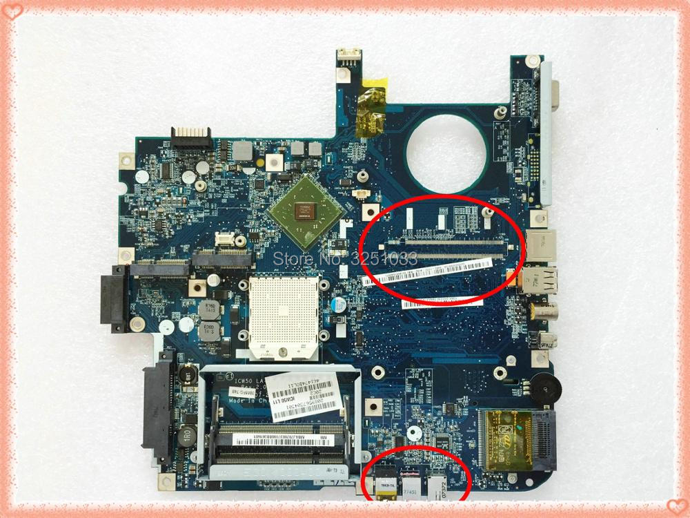 ICW50 LA-3581P para Acer Aspire 5520 de 5520G de la placa base LA-3581P MB AK302.005 MB AK302.002 probada buena envío gratuito