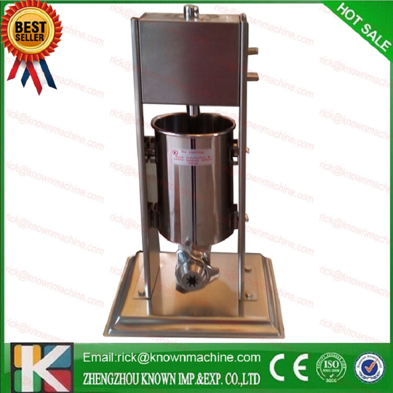 manual type churro maker / stainless steel 7L churro making machine with three moulds and nozzles commercial stainless steel churro machine 25l electric fryer manual spanish churros maker 4 nozzles