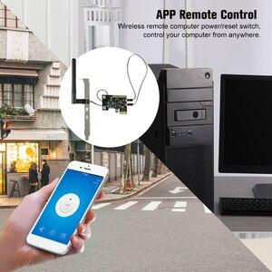 Image 4 - eWeLink Mini PCI e Desktop PC Remote Control Switch Card WiFi Wireless Smart Switch Relay Module Wireless Restart Switch