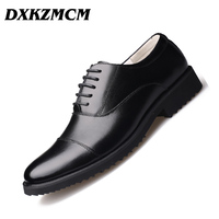 DXKZMCM Men Shoes Big Size 38 46 Handsome Comfortable Men Dress shoes Oxford Business Formal Shoes