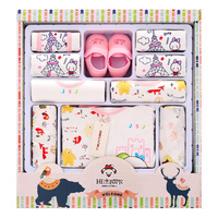 100% cotton newborn clothes summer baby gift box set baby products newborn baby set 18 pcs for 0 6 month baby