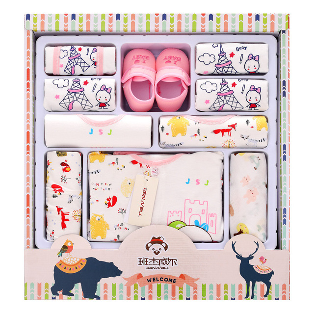 4cd534ec6 100% cotton newborn clothes summer baby gift box set baby products ...