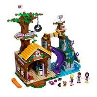 BELA 10497 Building Bricks Compatible Lepin Friends Blocks Adventure Camp Tree House 41122 Emma Mia Figure