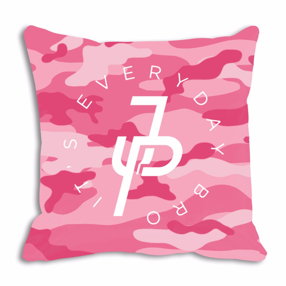 New Jake Paul Throw Pillow Case Cover Pink Camo 1000x1000